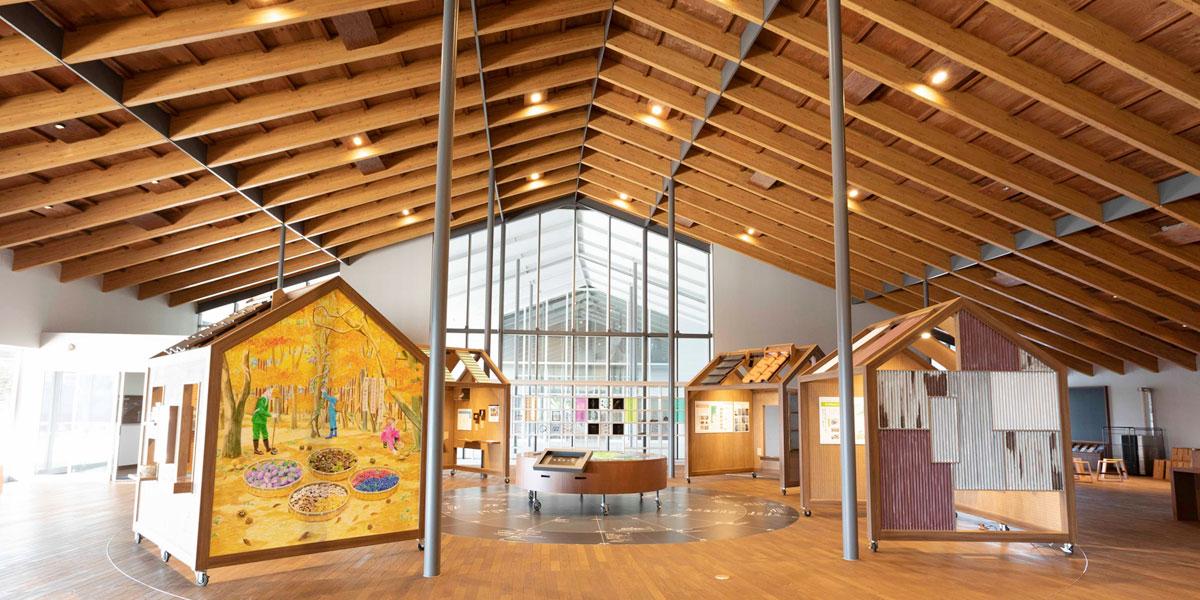 ホエールタウンおしか ホエールタウンおしかは牡鹿半島の観光交流拠点施設です。 牡鹿半島ビジターセンター